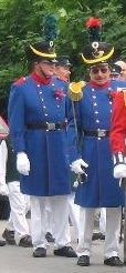 Blaue Uniform